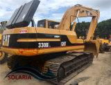 Original de segunda mano Bélgica Caterpillar 330BL excavadora sobre orugas para la venta
