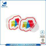 Une gamme complète de l'étiquette des spécifications autocollant transparent en PVC