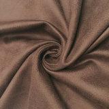 의복 가구 Uphostery 소파를 위한 두 배 측에 의하여 뜨개질을 하는 스웨드 직물
