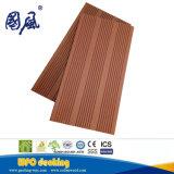 Decking en plastique extérieur du composé WPC en bois solide