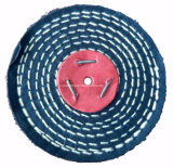 """roue de polissage de polissage de coton de point de la couleur 4 """" X1/2 """" pour le métal"""