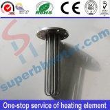 Calentador tubular eléctrico del elemento de calefacción con el borde