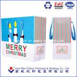 2016 Nuevo Diseño de Moda personalizada directamente de fábrica de regalos de Navidad Compras bolsa de papel
