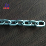 Corrente de ligação chapeada zinco do aço de alta elasticidade da classe 43