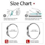 Серебристый с обратной связью Magentic ячеистой сети 20мм Миланское смотреть ремешок для передачи Samsung S2