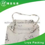 L'image personnalisés imprimés promotionnels réutilisable écologique Blanc Sac fourre-tout sac en toile de coton