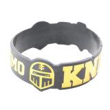 Cheap promotionnels imprimés personnalisés en silicone Bracelet Bracelet en silicone