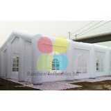 よい価格の白い結婚式の膨脹可能なテント、膨脹可能なイベントのテント