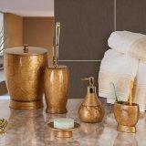 Handgemaltes goldenes Badezimmer stellte mit China-Fabrik-Großhandelspreis ein