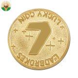 カスタム柔らかいエナメルが付いている金によってめっきされる記念品の硬貨