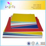 Couleur fluorescente de fantaisie de panneau de mousse de 5mm picoseconde avec le papier