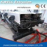 HDPE/PP/PVC 두 배 벽 물결 모양 관 밀어남 기계