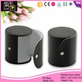 Оптовая торговля нового дизайна моды черного цвета кожи реактивной тяги к коробке (2800)