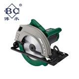 la circulaire en aluminium de découpage des outils 2200W électriques a vu