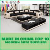 Moderne italienische echtes Leder-Sofa-Couches