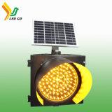 La energía solar Powered LED amarillo de la seguridad vial de Control de Tráfico temporal firmar