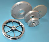 Di alluminio la rotella della macchina per colata continua della pressofusione