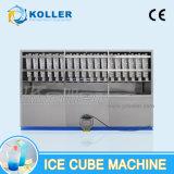 5 Tons/24h 패킹 시스템을%s 가진 자동적인 입방체 얼음 만드는 기계