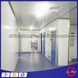 Contrôle de vitesse d'air pour salle blanche modulaire