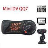Обнаружение движения TV out H. 264 1080p HD QQ7 DVR Mini DV камера