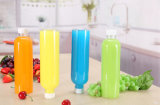 Plastiksaft-Gläser des maurer-620ml, die mit Stroh-Kappe trinken