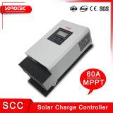 Жк-Дисплей макс 3000W выход 48V 60A MPPT солнечного контроллера заряда