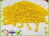 Polyethlene 모든 플라스틱 제품을%s 노란 플라스틱 과립 색깔 Masterbatch