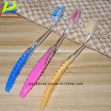 La doble transparente de plástico para adultos el cepillo de dientes Blanqueamiento dental