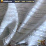 Tn18261 여자 복장을%s 100%년 폴리에스테 줄무늬 클립 시퐁 직물
