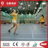 Suelos de hojas de PVC profesional para el bádminton Deportes