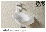 Schwarzes populäres Kunst-Bassin Wand-Hing Bassin-Badezimmer-Eitelkeits-gesundheitliche Waren
