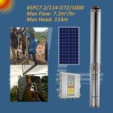 72V 1KW 4 polegadas deep well Solar bomba submersível, Furo da Bomba com Controlador MPPT
