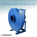 (9-19) High Pressure Centrifugal fan with Small vibration for Exhaust