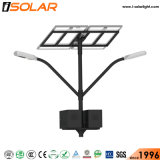 Ce Isolar doble LED Lámpara de luz solar calle