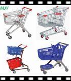 Carrello di acquisto del metallo del supermercato da 60liters a 275 litri