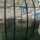 1050 1060 1070 Checkered 치료 5개의 바를 가진 알루미늄 장 격판덮개