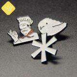 工場価格のカスタムブランク漫画の金属の名前の磁気折りえりPin