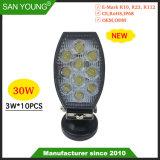 Nouveau 4inch 30W phare de travail LED LED LED feux de brouillard Feux de route projecteur LED Spotlight
