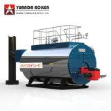 Modelo de WNS na horizontal 10 Tph Gás Preço da caldeira de vapor a óleo