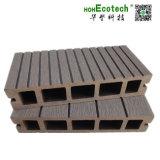 De Holle Bevloering WPC van de goede Kwaliteit/Houten Plastic Samengestelde Decking