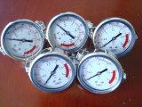 ステンレス鋼の圧力計の水道メーターのアクセサリ
