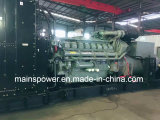 Reserveenergie BRITISCHER Perkin Motor-Diesel-Generator der bewertungs-1100kVA