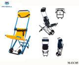 M-CE05 Hospital económica de dobragem de evacuação da estrutura Al-Alloy cadeira para escadas do paciente