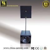 Q1&Q-Sous double haut de 10 pouces et 18 pouces compact unique sous-système de line array Actif, haut-parleur avec module amplificateur audio professionnelles