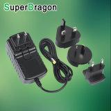 24W 12ボルト2つのAMP DC電光交換可能なプラグACアダプターの供給の充電器の電源Kcのアダプター220V 12V 2A 24V1a
