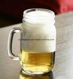 Limpar 480ml beber cerveja Copo Mason caneca