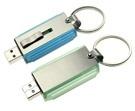 Movimentação do flash do USB do giro do metal, movimentação 2/4/8/16GB da pena do Twirl
