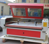 Het Voeden van Co2 de Automatische Laser van het Document van de pvc- Stof Schurende Scherpe Machine