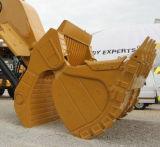 Terexの掘削機のための表面シャベルのバケツ