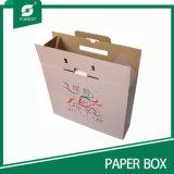 Het nieuwe Ontwerp plooide de Doos van het Karton voor Verpakking met Handvat